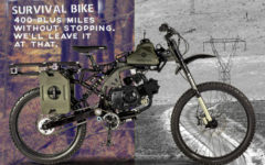 Motoped Survival Bike
