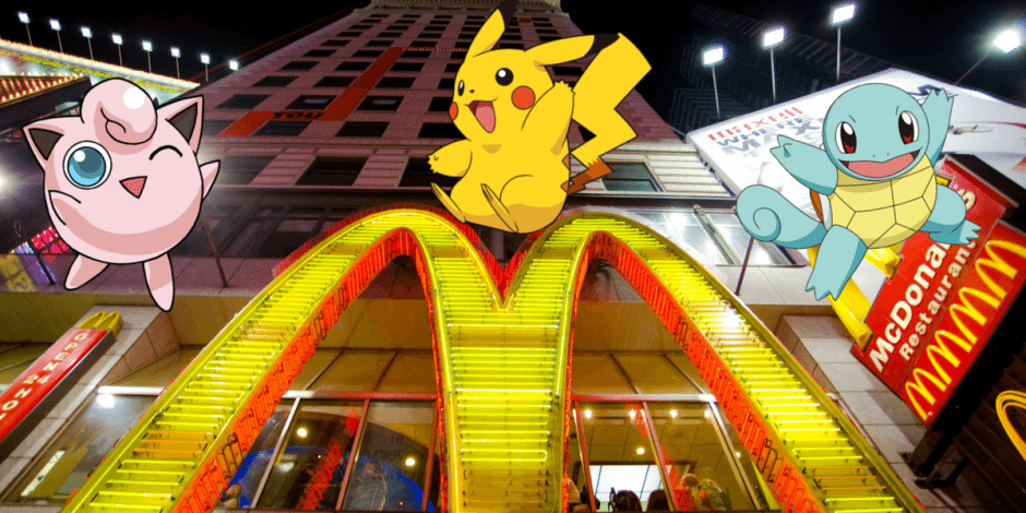 pokemon Mcdonalds