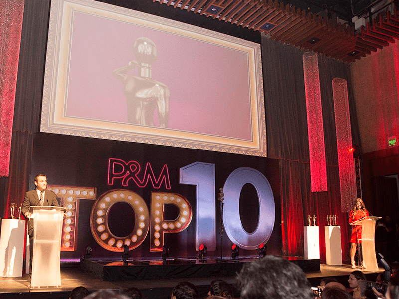 Top 10 Revista P&M